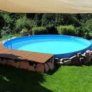 Afbeeldingsresultaat voor poolgestaltung stahlwandbecken