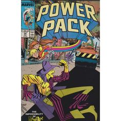 POWER PACK #34 | 1984-1991 | VOLUME 1 | MARVEL | $4.50