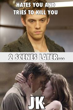 Oh Ian... It makes more sense in the book. Love the movie but the change was too fast. It didn't show their relationship growth.