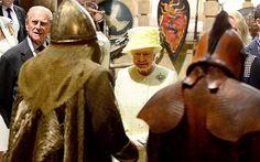 """La reina de Inglaterra viajó al mundo de """"Game of Thrones"""" durante su viaje a Belfast"""