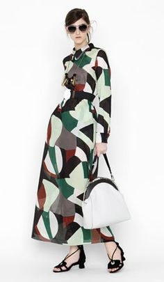 Consuelo Castiglioni and her Marni label might be based in Milan, but that's not to say she doesn't look further afield for inspiration. This r