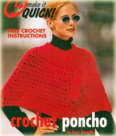 Poncho Free Patterns