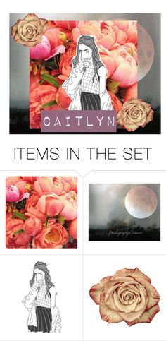 """Caitlyn"" by imogengh ❤ liked on Polyvore featuring art"