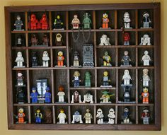 Photo by Michael Marzilli Star Wars Minifigures, Lego Star Wars, Lego Shelves, Lego Minifigure Display, Shadow Box, Nerdy, Craft Projects, Photo Wall, Told You So