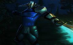 Download wallpapers Sven, warrior, dragon knight, art, Dota 2