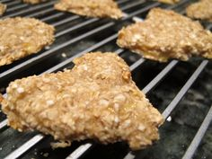 Banana and oat toddler snack. Wheat free, dairy free, soy free, nut free, corn free!