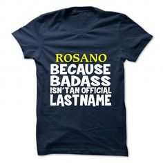ROSANO JACKETS Design - JACKETS TEAM ROSANO - Coupon 10% Off