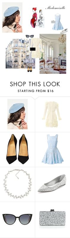 """Modemoiselle"" by josefinai ❤ liked on Polyvore featuring Front Row Shop, Prada, Giambattista Valli, Christian Louboutin, Alex Perry, Carolee, Casadei, Fendi, Edie Parker and Charlotte Olympia"