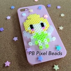 Kawaii Disney tinker bell perler bead iPhone case