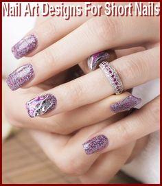 Nail Art Designs For Short Nails At Home     #ShortNails #NailsDesigns #NailArt