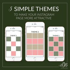 """Have you every seen an Instagram page and think """"Wow I love the layout?"""" You can create your own themed page in no time. How do you do it? _ Look at the big picture; view your Instagram as a whole rather than lots of separate images. Creating a visually appealing feed with a theme requires you to be intentional about what you post. Featured above are 3 simple and easy to follow themes for creating a beautiful consistent looking Instagram. _ The theme and style of photos you choose for..."""
