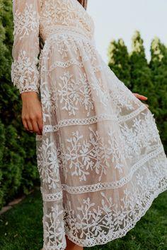 Sicily Dress - Champagne Lining – Ivy City Co Unique Dresses, Modest Dresses, Beautiful Dresses, Bridesmaid Dresses, Maxi Dresses, Modest Clothing, Asos Prom Dresses, Floral Clothing, Romantic Dresses