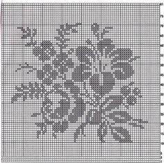 Схемы Crochet Carpet, Fillet Crochet, Cross Stitching, Embroidery Stitches, Sewing, Knitting, Christmas Snacks, Gourds, Phoenix