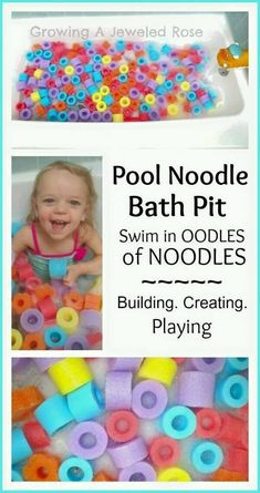 Bath Activities for Kids: Fun Math Activities, would also be fun in the kiddie pool Craft Activities For Kids, Infant Activities, Projects For Kids, Learning Activities, Kids Learning, Kids Crafts, Baby Kind, Baby Love, Kiddie Pool