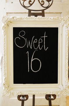 How to make DIY Chalkboard Frame