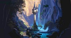 """Rapunzel's tower from the movie """"Tangled"""""""