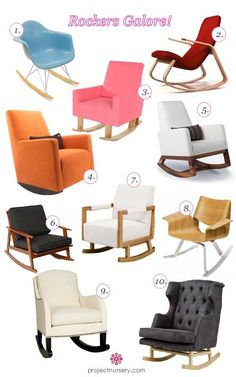Rocking Chairs for the Nursery for Every Style