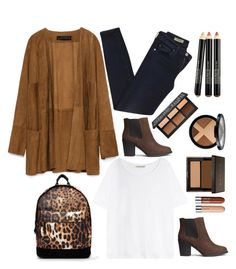 """""""street style for a fall day"""" by ecem1 ❤ liked on Polyvore featuring Zara, AG Adriano Goldschmied, Mi-Pac, Acne Studios and H&M"""