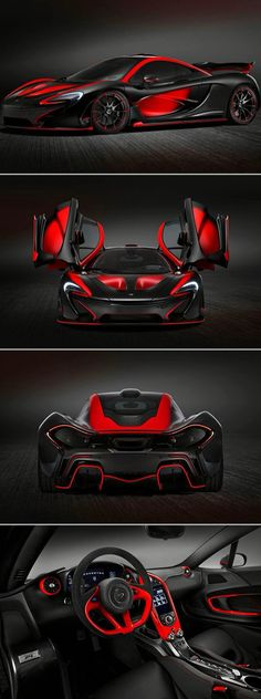 The 2014 McLaren P1 Supercar