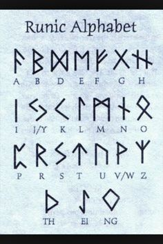Viking Symbols of the germanic peoples norse speaking scandinavian the vikings Alphabet Code, Alphabet Symbols, Norse Alphabet, Glyphs Symbols, Rune Symbols, Fun Fonts Alphabet, Witches Alphabet, Tattoo Alphabet, Viking Symbols