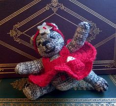Katrina+the+little+dancer+bear++collectible+by+LittleWoollyThings,+$49.99