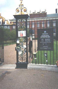 Kensington Palace, former home of Princess Diana