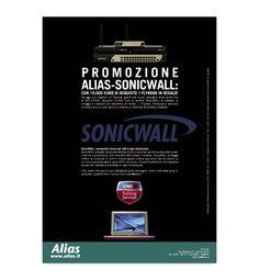 Alis, campagna pubblicitaria, promozione Sonicwall, Web Industry