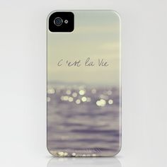 I NEED THIS C'est la Vie iPhone Case by Christine Hall - $35.00