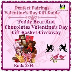 Teddy Bear And Chocolates Valentine's Day Gift Basket Giveaway Ends 2/14 ~ Tales From A Southern Mom