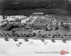 Vintage Jacksonville -- Ponte Vedra Inn & Club, 1947 Ponte Vedra Inn And Club, Jacksonville Fla, Fernandina Beach, Atlantic Beach, Old Florida, Historical Pictures, The Good Old Days, Vintage Photos, Paris Skyline