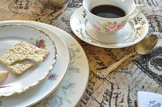 Mix-matched Vintage Dishes (Beautiful!)