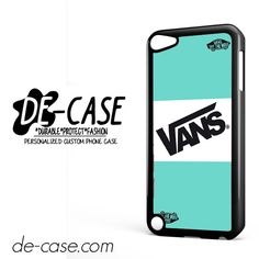 Vans Light Blue Style DEAL-11630 Apple Phonecase Cover For Ipod Touch 5