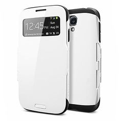 S-View Flip Robot Full Body Smart Case for Samsung Galaxy S4 I9500 (Assorted Color)  – USD $ 6.95