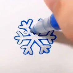 Double Line Outline Pen Outline, Illustration Mode, Snow Art, Congratulations Graduate, Poses References, Bullet Journal Art, Pen Art, Gel Pens, Easy Drawings