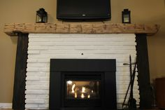 Basswood Mantel- Rescued Workbench