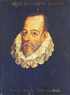 """El retrato de Cervantes que preside el salón de actos de la RAE es falso.  A pesar de ello, Menéndez Pidal, director de la RAE durante la época franquista, se negó a retirarlo: """"Déjenlo ustedes ahí, que si quitamos a Cervantes, seguramente tengo que poner a Franco"""""""