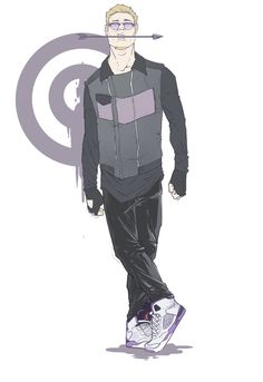 Hawkeye redesign - NakedMazaFaker.deviantart.com