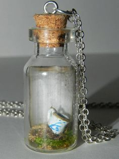 Once Upon a Time Chipped Cup by BottledUpCreations on Etsy, $15.00