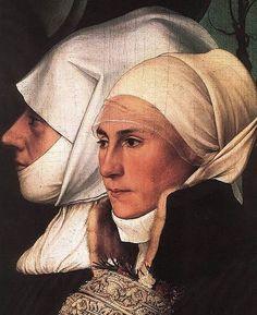 Hans Holbein le Jeune - Lady Margaret Butts et sa servante  1543