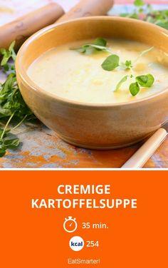 Cremige Kartoffelsuppe - smarter - Kalorien: 254 kcal - Zeit: 35 Min.   eatsmarter.de