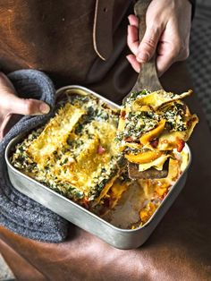 Lasagne with Sweet Potato, Ricotta and Kale Veggie Recipes, Pasta Recipes, Vegetarian Recipes, Healthy Recipes, Healthy Soups, Dinner Recipes, Easy Cooking, Cooking Recipes, Healthy Cooking