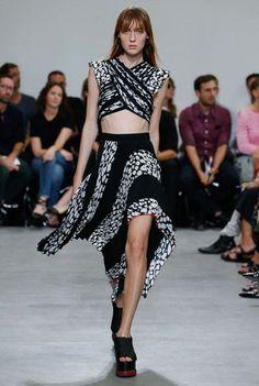 Proenza Schouler New York Spring/Summer 2017 Ready-To-Wear Collection | British Vogue