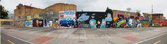 Grafittis en la Cra 30 con calle 75  Fotos: Mauricio Leon