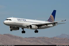 N461UA United Airlines Airbus A320-200