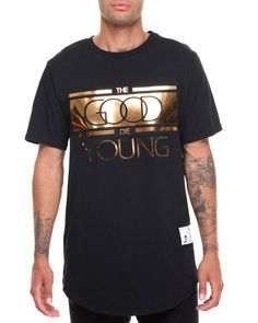 Buyers Picks - Good Die Young Zip Tee-GoldPlate