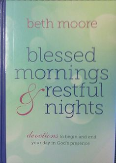 Blessed mornings & restful nights