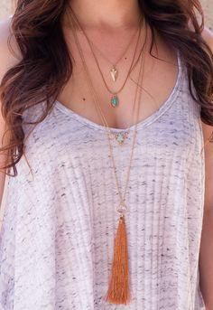 Leora Layered Necklace – Shop Priceless