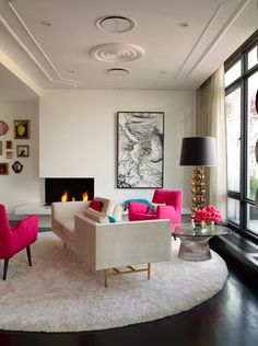 Home-Styling: My Vibrant Color is Fuchsia, not Red *
