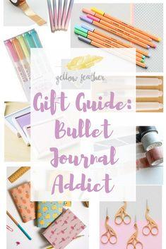 Gift Guide Bullet journal addict