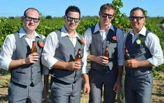 Your bridal party never looked this good! #Eyepster #Groom #Groomsmen #BestMan…